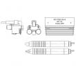 Комплект для контроля замковой резьбы бурового оборудования