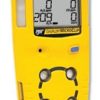 Портативный газоанализатор GAS ALERT MICRO CLIP XL