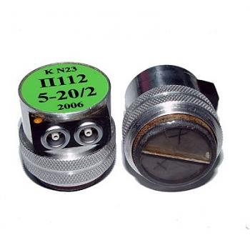 Прямые раздельно-совмещенные ультразвуковые преобразователи П112