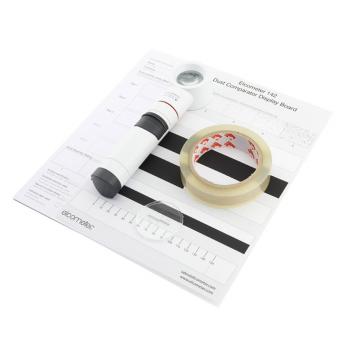 Набор с лентой Elcometer 142 для определения запыленности поверхности по ISO 8502-3