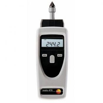 Комбинированный тахометр бесконтактного и контактного измерения Testo 470