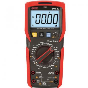 Мультиметр RGK DM-20 с поверкой